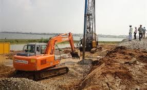پاورپوینت اصلاح و بهسازی شیمیایی خاک بوسیله میکروپایل و ریز شمع و تزریق تراکمی و تثبیت خاک با قیر